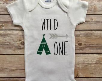 Wild One 1st Birthday Onesie®, First Birthday Outfit®, Wild One Shirt, Boy Birthday Onesie®, Girl Birthday Onesie®, Birthday Outfit,