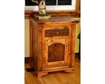 Rustic nightstand, barnwood rustic nightstand, rustic furniture, barnwood furniture