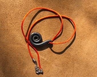Blacksmith made necklace