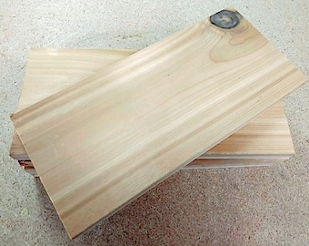 Cedar Grilling Planks 6 Pack FREE SHIPPING