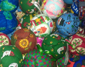 Christmas ornaments FabOrbs by Robbie