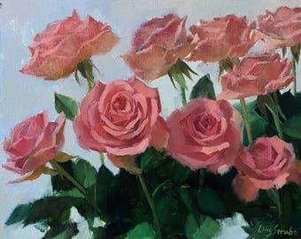 Spring Roses (frame)