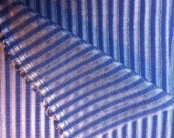 Blue and white 130X200cm curtain fabric
