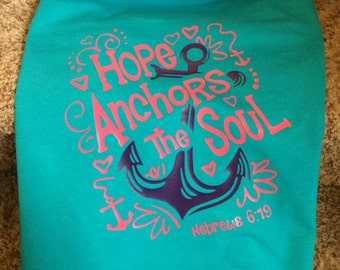 Hope Anchors The Soul Shirt