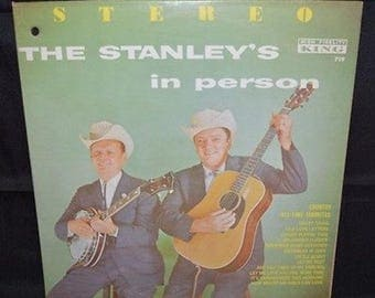 """The Stanley's in Person 12"""" Record"""