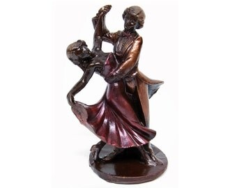 "Chocolate Gift ""Dancing couple"" /Handmade Gift/Dance/Dance competitions/for Her/for Him"