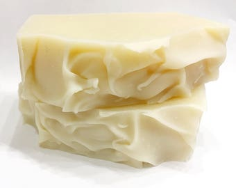 Just Shea All Natural Handmade Soap, Cold Processed, Unscented