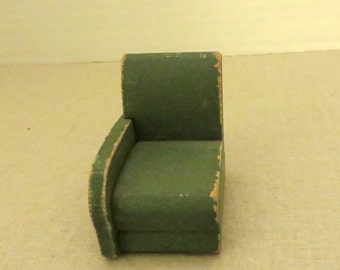 One section of the 3-piece sectional sofa made by Strombecker in 1938