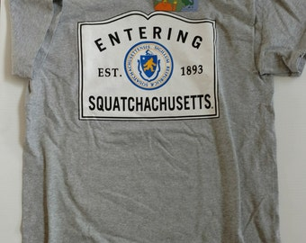 Entering Squatchachusetts® tee