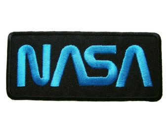 NASA Applique Embroidered Iron on Patch