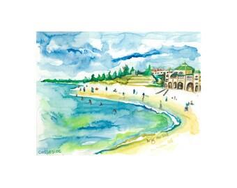 Cottesloe – Original Watercolour