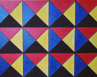 Non-Regular Tessellation 31 (# NRT_31_CB)