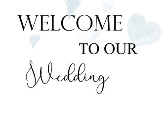 Welcome to our wedding digital download