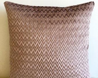 Mocha Velvet Pillow Cover, Pillow Velvet, 18X18 Mocha Pillow, Designer Pillow, Velvet Pillows Velvet Cushion Covers, Mocha Sofa Pillow cover