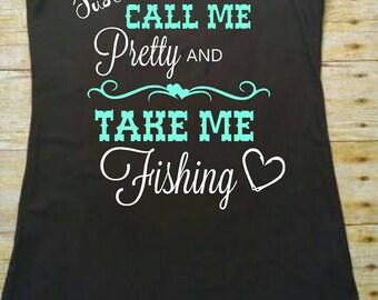 Take me Fishing Tank Top