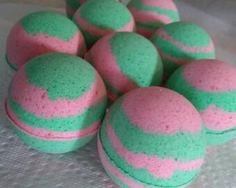 Watermelon Bath Bombs