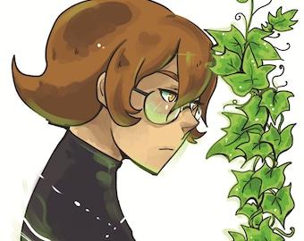 Voltron flower series - Pidge