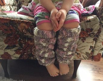 Little Cozy Legwarmers --- Crochet Pattern Only