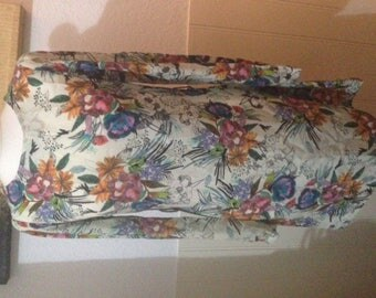 Floral vintage tunic dress