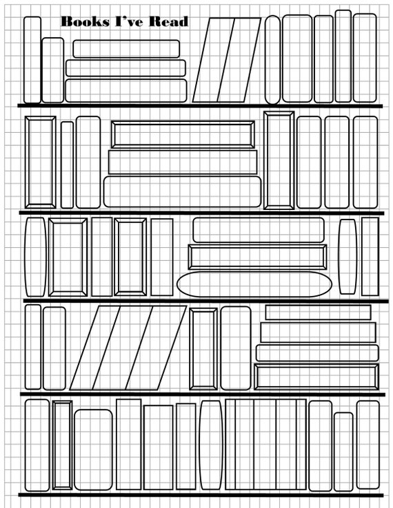 books ive read bullet journal printable - Printable Picture Books