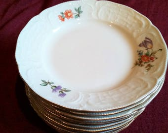 Vintage Rosenthal Classic GERMANY Bread & Butter Plates Set of 12