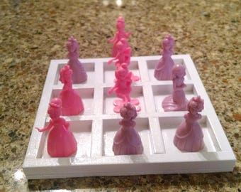 Little Princess Tic Tac Toe Game