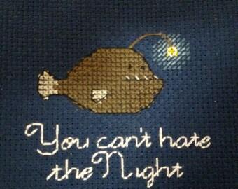 Anglerfish - Nerdfighter Cross Stitch Pattern