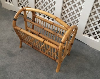 Lobster pot/Tiki/Bamboo magazine rack