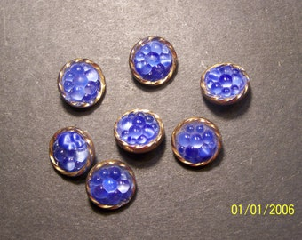 moon glow glass buttons