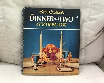 Vintage Betty Crocker's New Dinner for Two Cookbook