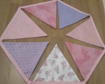 Custom Bunting/ Personalised Bunting/ Nursery Decor/ Flag Bunting/ Birthday/ Baby Shower/ Christening
