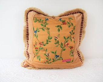 The French Gold collection: floral, Cushion cover, pillow, pillow fancy gift for him, gifts for her,