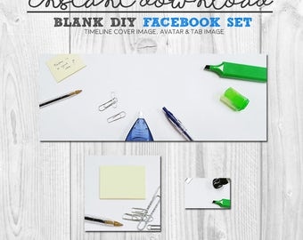 How to Set Up a Facebook Page for Business : Social Media ...  |Blank Facebook Timeline Page