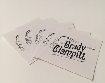 """Custom 2"""" BC Logo Stickers (Package of 5)"""