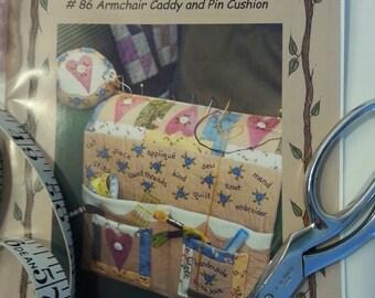 Caddy pincushion armchair pattern paper
