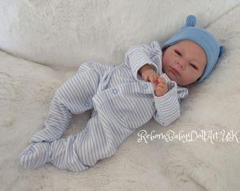 Beautiful AWAKE Reborn Baby BOY ... #RebornBabyDollART UK