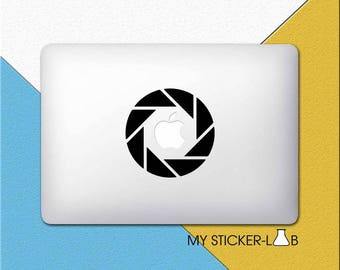 Camera Shutter MacBook Decal Camera Shutter MacBook Sticker Camera Lens Sticker Camera Decal Photography MacBook Decal Laptop Vinyl m220