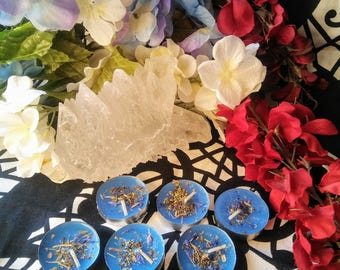 Peaceful Home Tea Light Candles - Hoodoo, Voodoo, Wicca, Pagan
