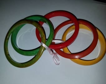 Set of 5 Assorted Bangles