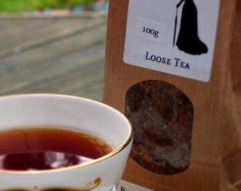 Rooibos Red Berry Loose Tea, 100g. By Hannah Sell's Tea of Norwich.