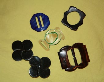 Variety of Vintage Buckles