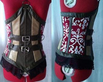 Wolfie Redhood corset cosplay