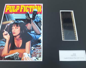Pulp Fiction original limited edition film cell