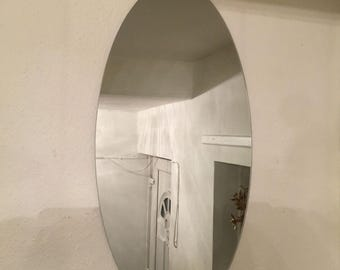 Oval Wall Mirror (80 X 40cm)