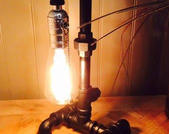 Unique all Pipe lamp