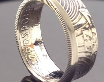 Poland 20 Zlotych Coin Ring (1973-1976)