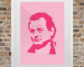 Bill Murray Pop Art Print