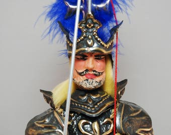 "Traditional Sicilian Puppet Carlo Magno"" (Charlemagne)"