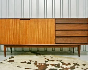 Retro Vintage Mid Century Richard Hornby Afromosia Sideboard