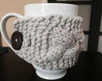 Knitted Mug Cozy, Warm Mug Cozy
